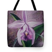 Orchid Lalia Tote Bag by Karin  Dawn Kelshall- Best