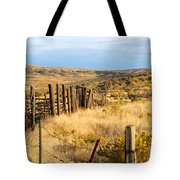 Oregon Corral Tote Bag by Betty LaRue