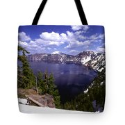 Oregon Crater Lake  Tote Bag by Anonymous