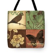 Organic Nature 1 Tote Bag by Debbie DeWitt