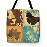 Organic Nature 3 Tote Bag by Debbie DeWitt