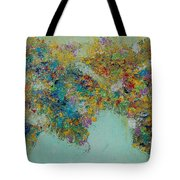 Worldly Flowers Tote Bag by Sara Gardner