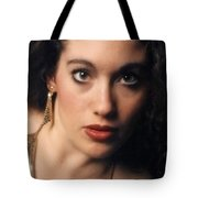 Original Used For Self Portrait  Tote Bag by Teri Schuster