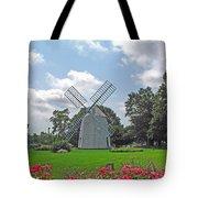 Orleans Windmill Tote Bag by Barbara McDevitt
