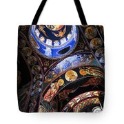 Orthodox Church Interior Tote Bag by Elena Elisseeva