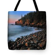 Otter Cliffs - Acadia National Park Tote Bag by Thomas Schoeller