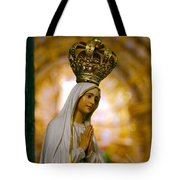 Our Lady Of Fatima Tote Bag by Gaspar Avila