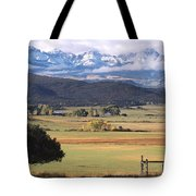 Ouray County Tote Bag by Eric Glaser