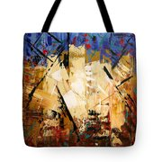 Out Of Darkness Tote Bag by Anthony Falbo