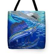 Out Of Sight Tote Bag by Carey Chen