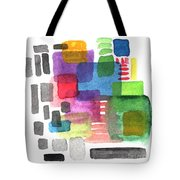 Out Of The Box Tote Bag by Linda Woods