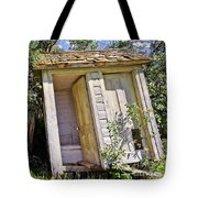 Outhouse For Two Tote Bag by Sue Smith