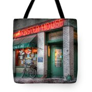 Oyster House Tote Bag by Lori Deiter