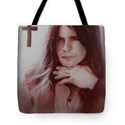 'ozzy Osbourne' Tote Bag by Christian Chapman Art