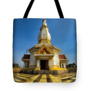Pa Dong Wai Temple  Tote Bag by Adrian Evans