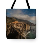 Pacific Coastal Highway Tote Bag by Mike Reid
