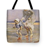 Paddling Tote Bag by William Kay Blacklock