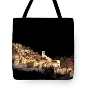 Paesaggio Scuro Tote Bag by Guido Borelli