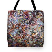 Paint Number 42 Tote Bag by James W Johnson