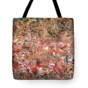 Paint Number 56 Tote Bag by James W Johnson