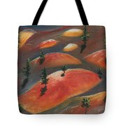 Painted Dunes Tote Bag by Anastasiya Malakhova