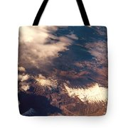 Painted Earth IIi Tote Bag by Jenny Rainbow