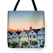 Painted Ladies Tote Bag by Bill Gallagher
