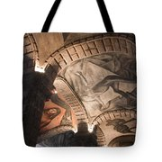 Painted Vaults Tote Bag by Lynn Palmer