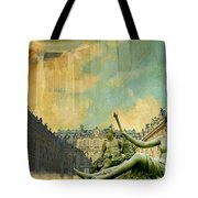 Palace And Park Of Versailles Unesco World Heritage Site Tote Bag by Catf