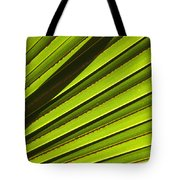 Palm Lines Tote Bag by Mike  Dawson