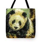 Panda Tote Bag by Lanjee Chee