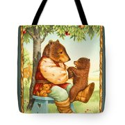 Papa Bear Tote Bag by Lynn Bywaters