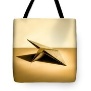Paper Airplanes of Wood 7 Tote Bag by Yo Pedro