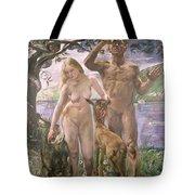 Paradise Tote Bag by Lovis Corinth