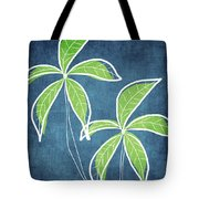 Paradise Palm Trees Tote Bag by Linda Woods