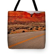 Parallel Lines Tote Bag by Benjamin Yeager