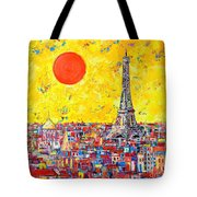 Paris In Sunlight Tote Bag by Ana Maria Edulescu