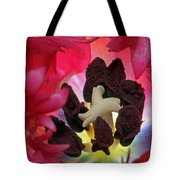 Parrot Tulip Swirl Tote Bag by Juergen Roth