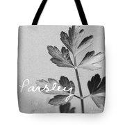 Parsley Tote Bag by Linda Woods