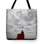 Partly Cloudy Tote Bag by Michelle Calkins