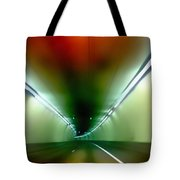 Passage Through The Mountain Tote Bag by Angelina Vick