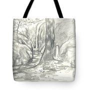 Passageway at Elephant Rocks Tote Bag by Kip DeVore
