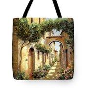 Passando Sotto L'arco Tote Bag by Guido Borelli