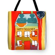 Passover House Tote Bag by Linda Woods