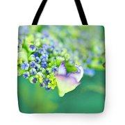 Pastel Buds Tote Bag by Kaye Menner