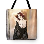 pastel passion Tote Bag by Shlomo Zangilevitch