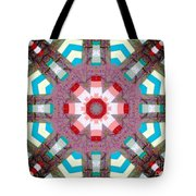 Patchwork Art Tote Bag by Barbara Griffin