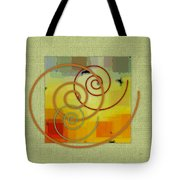 Patchwork I Tote Bag by Ben and Raisa Gertsberg