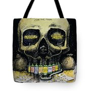 PATENT MEDICINE CARTOON Tote Bag by Granger