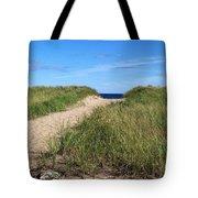 Path To Heaven Tote Bag by Brenda Burns